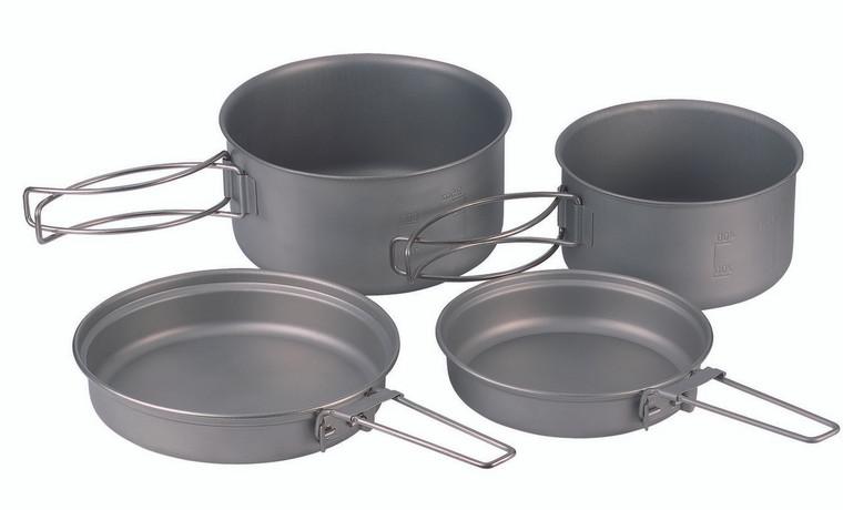 4-pc Titanium Cooking Set