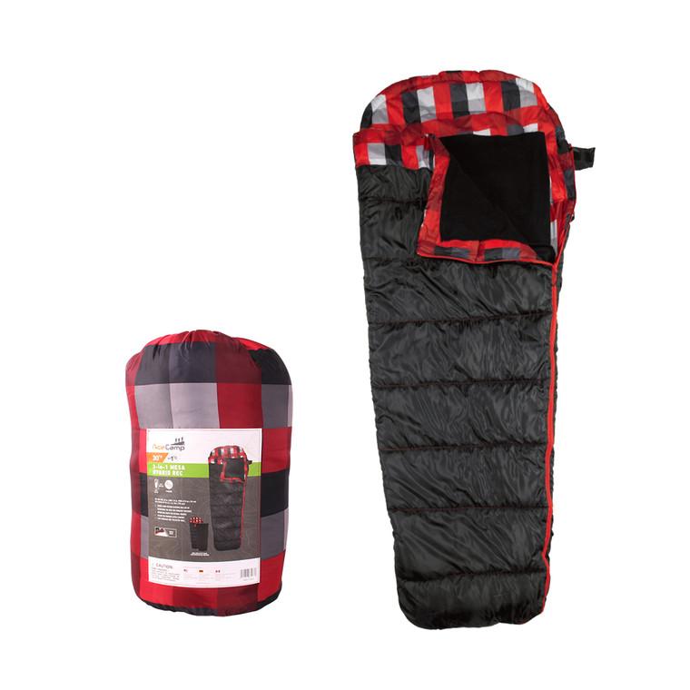 3 in 1 Mesa Hybrid Rec Sleeping Bag