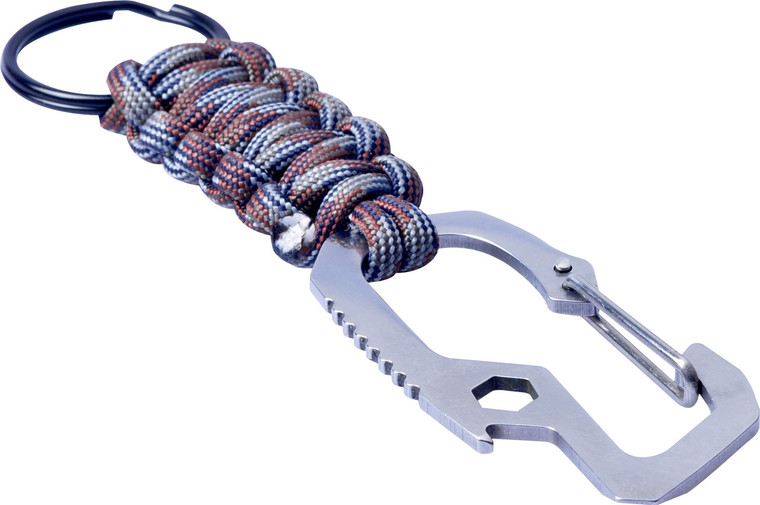 Multi Function Carabiner With Paracord