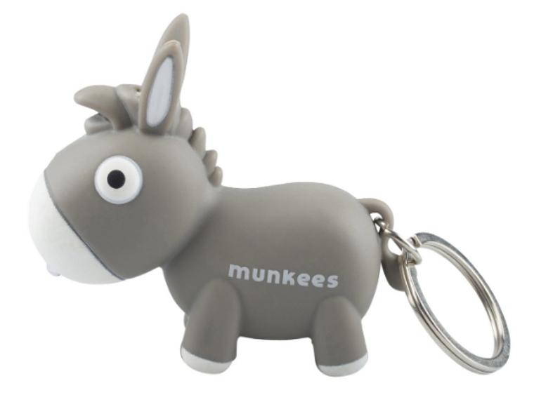 Donkey LED Keychain