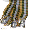 "SSRF124 ""Hero"" Scarf Fringe. 100% Cotton. Made in Guatemala."