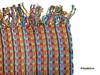 """SSRF137 - """"Confetti"""" Scarf w/Fringe. 100% Cotton. Made in Guatemala. https://www.mayawear.com"""