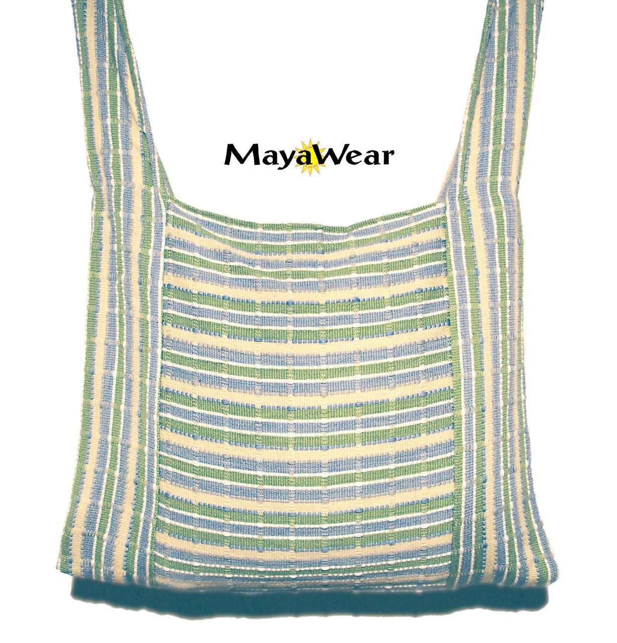 Woven Purse Messenger Book/ Shoulder Bag https://www.mayawear.com