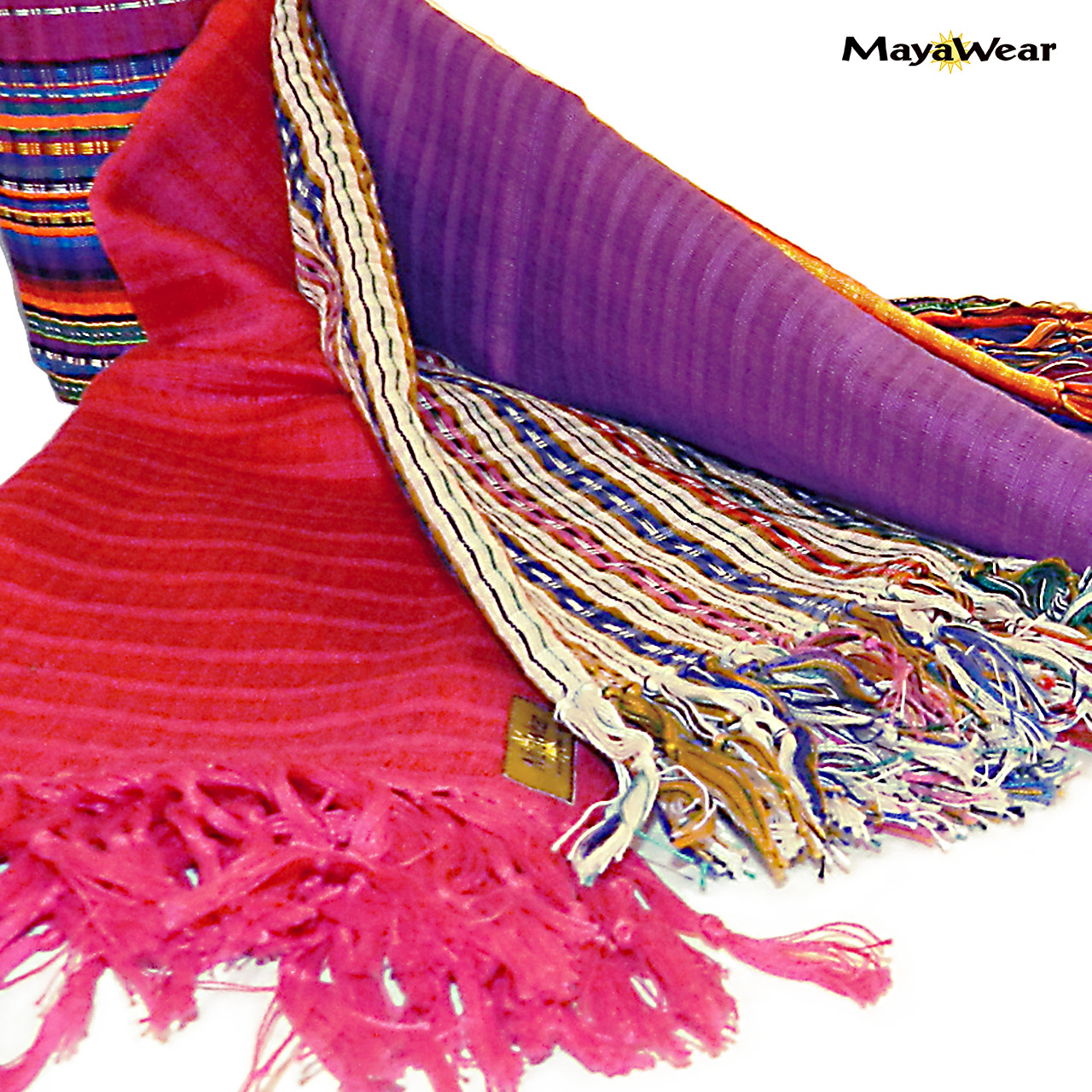 100% Cotton Hand Woven. Made in Guatemala.