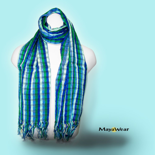 "SSRF144 - ""Marina"" 100% Cotton Hand Woven. Made in Guatemala. https://www.mayawear.com"