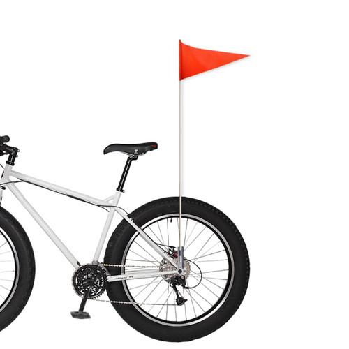 """2-Piece Bicycle Flag 1/4"""" x 6'"""