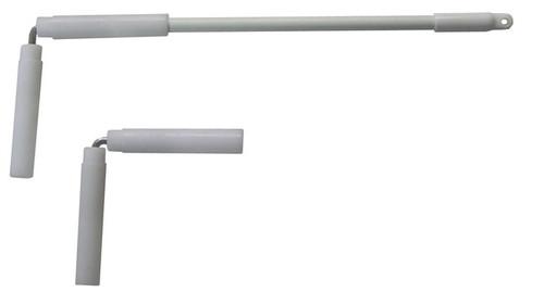 "Conduit Swivel Socket 90 Degree Arm 1/4""x 6"""