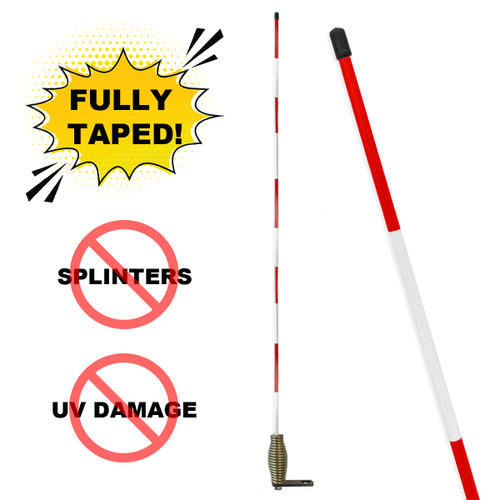 """PREMIUM Hydrant Marker With Choice of Bracket 3/8"""" x 5'"""
