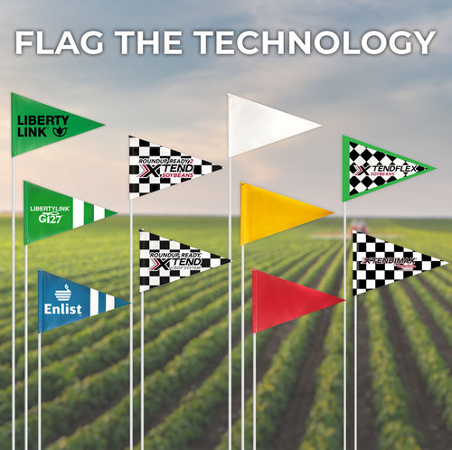 "Flag the Technology 5/16""x 6'"