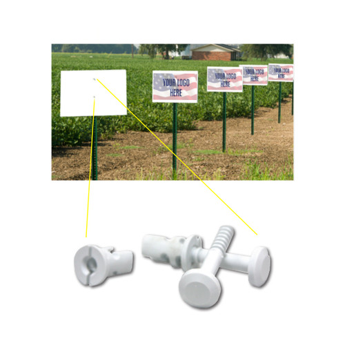 Pin & Keeper For Plot Signs (10 Pack)