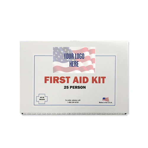 First Aid Kit With Custom Decal