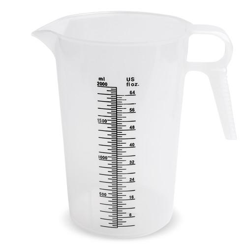Accu-Pour Measuring Pitcher - 64 oz. (Plain or Decal)