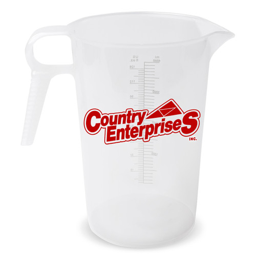 Accu-Pour Measuring Pitcher - 128 oz. (One Color Imprint)