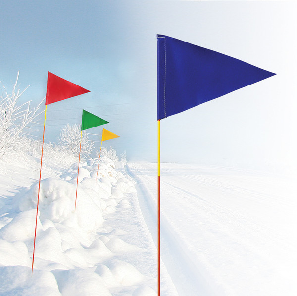 """EZ See Driveway Marker with Flag 5/16"""" x 5'"""