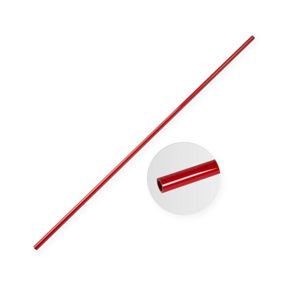 Red Fiberglass Tube