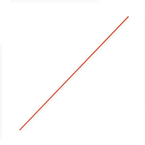 "Orange Rod - 5/16""x24"""