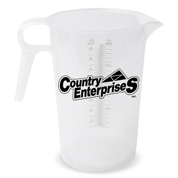 Accu-Pour Measuring Pitcher - 64 oz. (One Color Imprint)