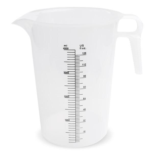 Accu-Pour Measuring Pitcher - 128 oz. (Plain or Decal)