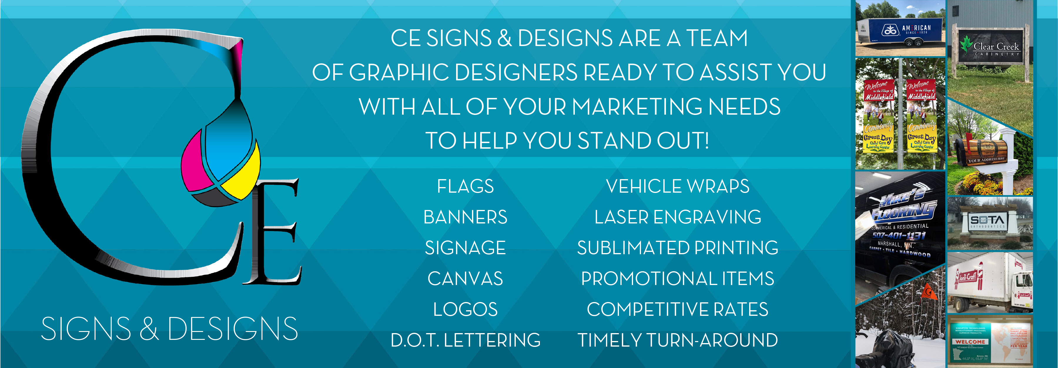 CE Signs & Designs Home Page