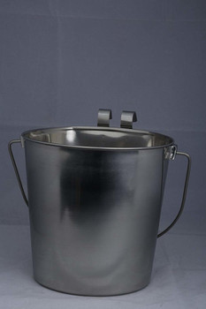 Flat Sided Stainless Steel Pail