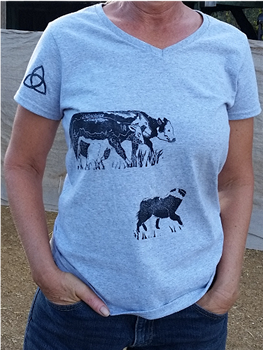 Exclusive Block Printed Australian Shepherd Designs
