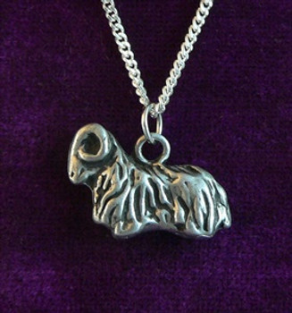 Resting Ram Necklace
