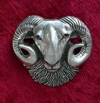 Rams Head Pin