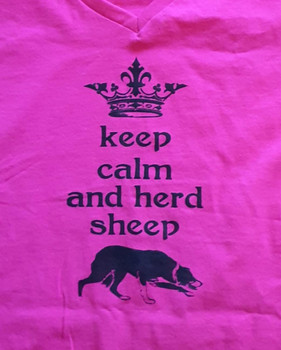 Keep Calm and Herd Tee