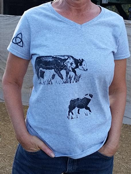 Exclusive Block Printed Australian Shepherd Designs