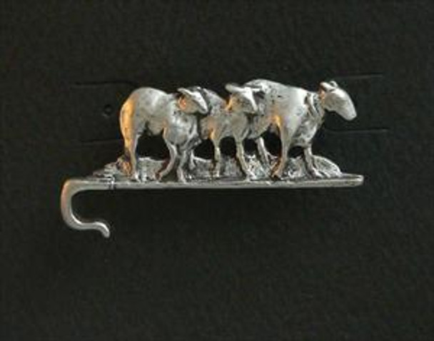 Sheep on a Crook Pin