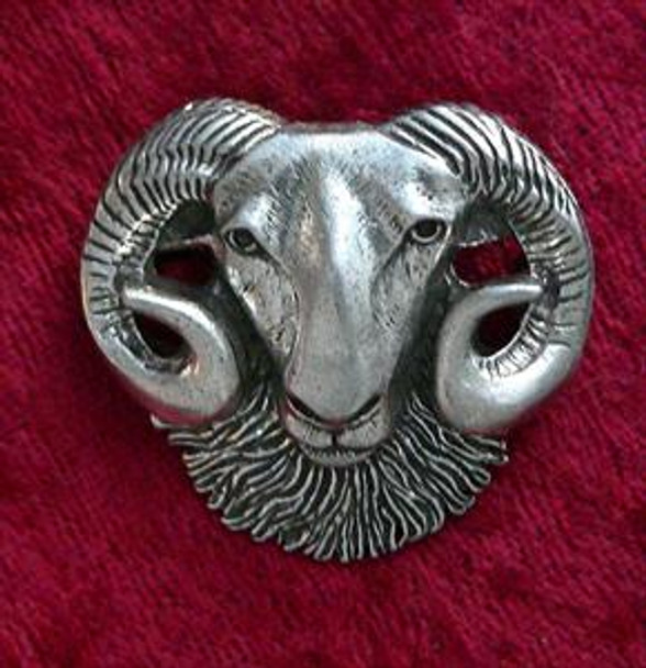 Rams Head Pin