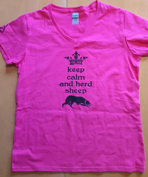 Keep Calm and Herd Tee