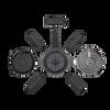 Magpul PMAG D-60 Drum AR M4 5.56x45 MAG576-BLK Blownup