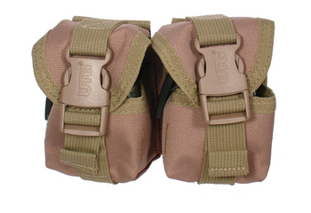 UTG Molle Pineapple Grenade Pouch Tan