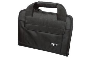 UTG Deluxe Double Pistol Case, Black