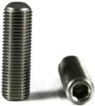 "Socket Set Screw Stainless Steel 4-40 x 1/4"" Set Screw 12 pack"