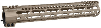 Midwest Industries Gen3 Lightweight LWK-Series One Piece Free Float Handguard, KeyMod compatible - Black