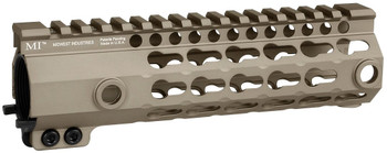 Midwest Industries G3 K-Series One Piece Free Float KeyMod Handguard, 7.25 Inch Carbine MI-G3K7