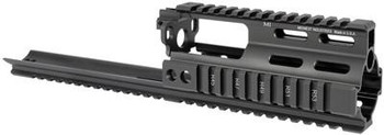 Midwest Industries SSR SCAR Rail Extension - Black MI-S1617-SSR (MWMI-S1617-SSR-BLK)