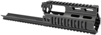 Midwest Industries SSR SCAR Rail Extension - Black MI-S1617-SSR (MWMI-S1617-SSR-BLK)