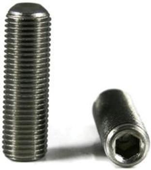 """Socket Set Screw Stainless Steel 4-40 x 3/32"""" Set Screw 12 pack"""