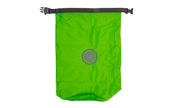 "UST - Ultimate Survival Technologies, Safe & Dry Bags, Lime Green, 23.2""x16.3"" Flat, Holds 10 Liters, Peggable Box Packaging, Keeps Contents Safe from the Elements, D-Ring for Hanging Extra Gear or Securing the Bag, Buckle Features Integrated Whistle, High Visibility Reflective Logo"