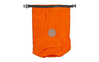 "UST - Ultimate Survival Technologies, Safe & Dry Bags, Orange, 27""x19.7"" Flat, Holds 15 Liters, Peggable Box Packaging, Keeps Contents Safe from the Elements, D-Ring for Hanging Extra Gear or Securing the Bag, Buckle Features Integrated Whistle, High Visibility Reflective Logo"