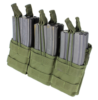 Condor Triple Stacker Open-Top M4 Mag Pouch