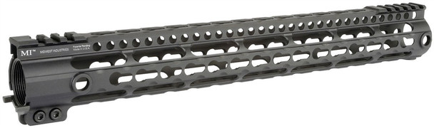 Midwest Industries Gen3 Lightweight LWK-Series One Piece Free Float Handguard, KeyMod MI-LWK15G3 (MI-LWK15G3)