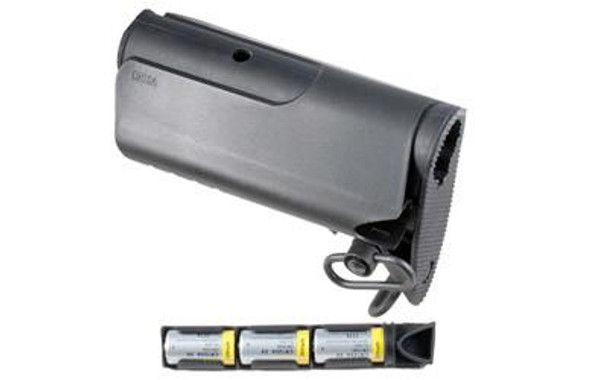 Mission First Tactical, E-Volv Cheek Piece, Fits 6-Position, with Battery Storage