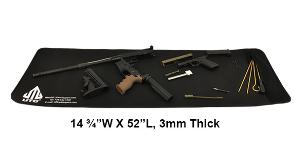 "UTG 14.75"" X 52"" Universal Firearm Cleaning Mat - Black"