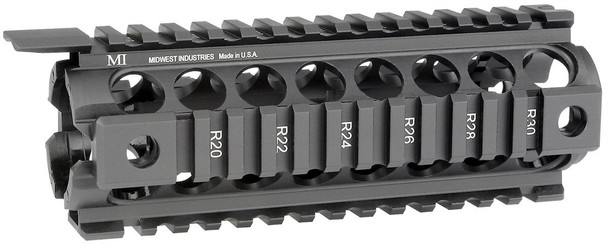 Midwest Industries, Gen2 Two Piece Drop-In Handguard, Carbine Length MCTAR-17G2