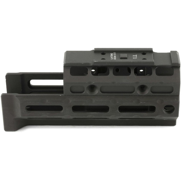 Midwest Industries, Gen2 AK47/74 Universal Handguard, M-LOK, Compatible, T1 Topcover, (MWMI-AKG2-UMT1)