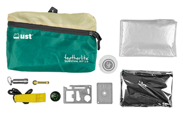 UST Ultimate Survival Technologies MK FeatherLite Survival Kit 2.0 with included items (142569)